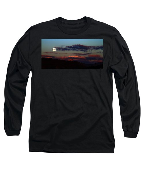 Silver Valley Moon Long Sleeve T-Shirt