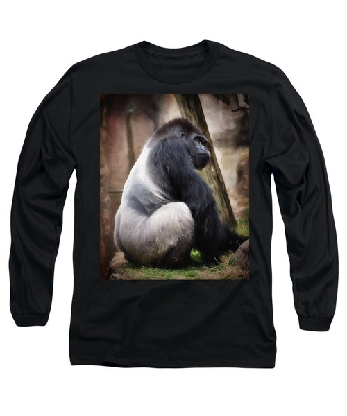 Silverback Long Sleeve T-Shirt by Lana Trussell
