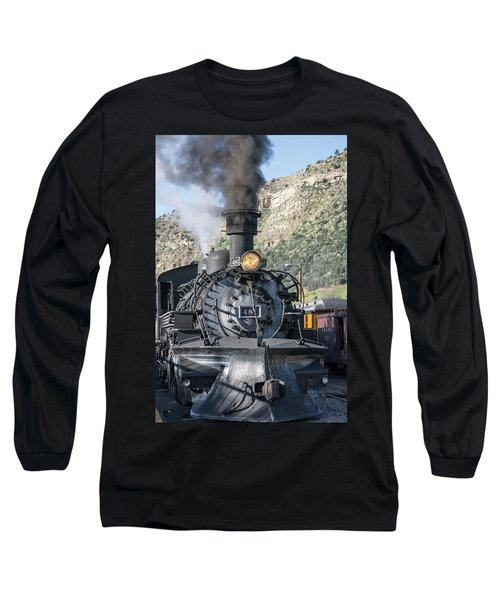 Long Sleeve T-Shirt featuring the photograph Silverton Bound by Colleen Coccia