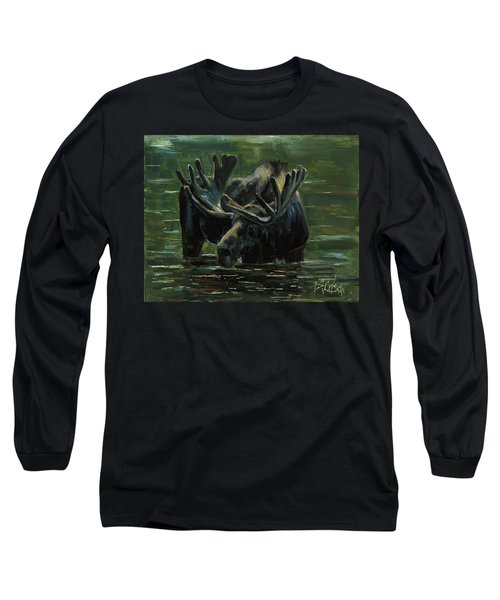 Long Sleeve T-Shirt featuring the painting Simple Pleasures by Billie Colson