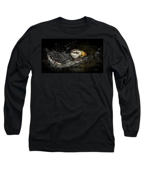 Simple Puffin Long Sleeve T-Shirt