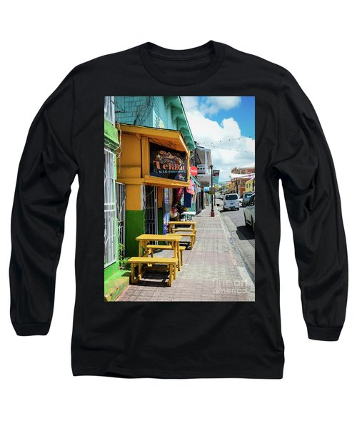 Simple Street View Long Sleeve T-Shirt