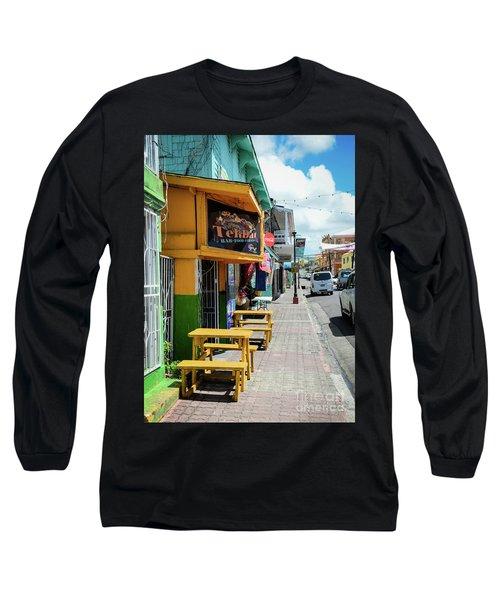Simple Street View Long Sleeve T-Shirt