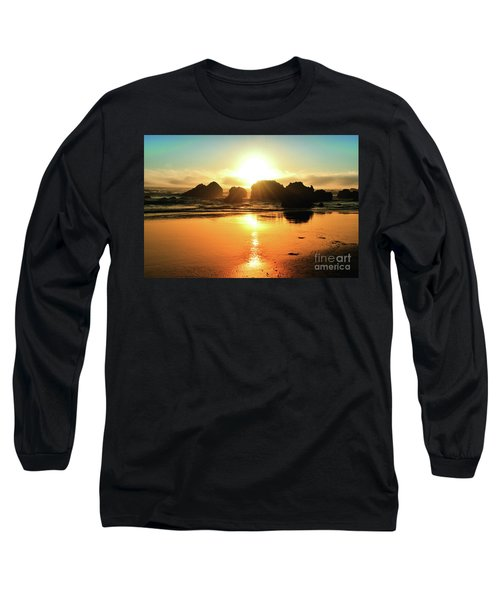Simple Sunset Long Sleeve T-Shirt