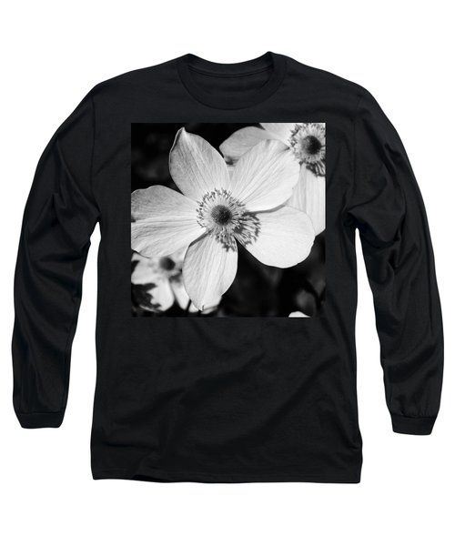 Long Sleeve T-Shirt featuring the photograph Simply Black And White by Karen Stahlros