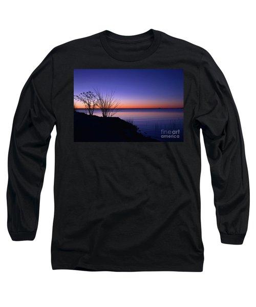 Simply Gentle Blue Long Sleeve T-Shirt