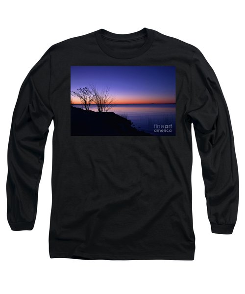 Simply Gentle Blue Long Sleeve T-Shirt