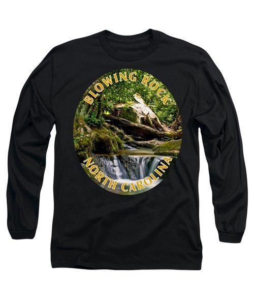 Sims Creek Waterfall T-shirt Long Sleeve T-Shirt