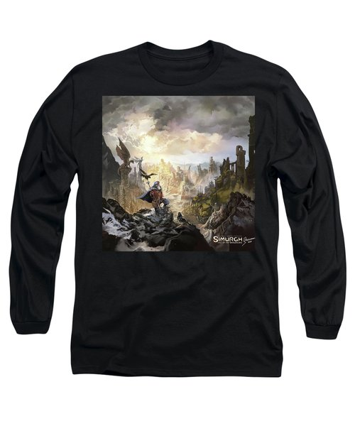 Simurgh Call Of The Dragonlord Long Sleeve T-Shirt
