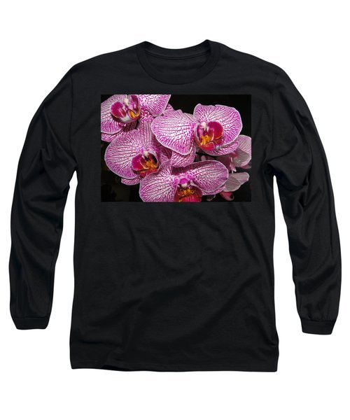 Singapore Orchid Long Sleeve T-Shirt