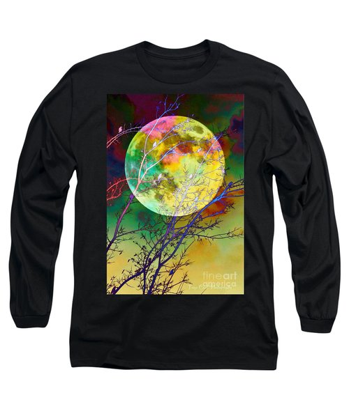 Singing By The Light Of The Moon Long Sleeve T-Shirt