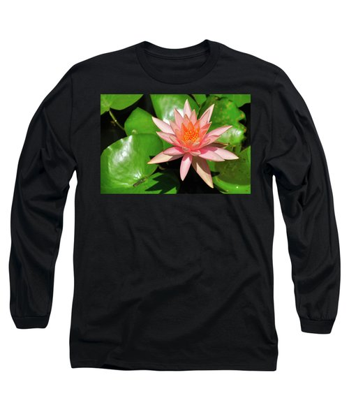 Long Sleeve T-Shirt featuring the photograph Single Flower by Gandz Photography