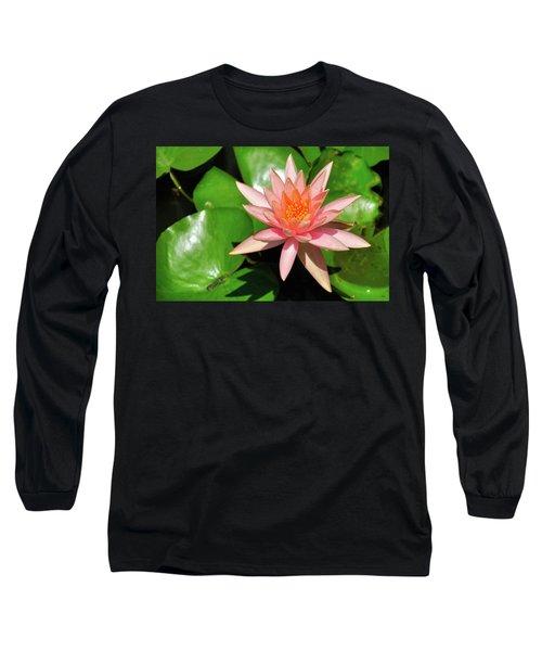 Single Flower Long Sleeve T-Shirt