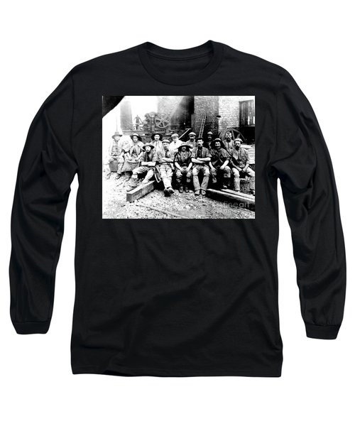 Sinkers,rossington Colliery,1915 Long Sleeve T-Shirt