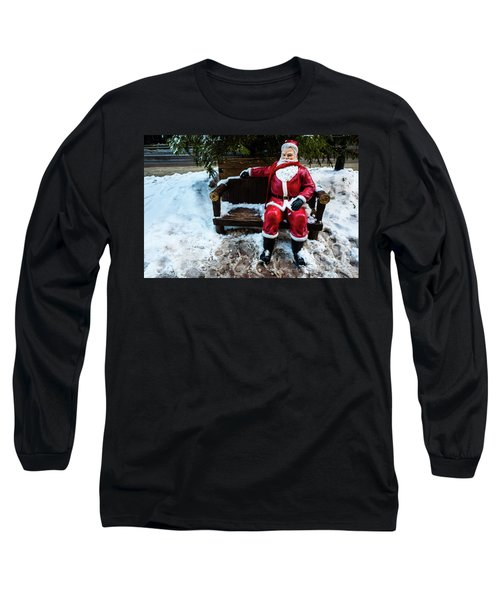 Sit With Santa Long Sleeve T-Shirt