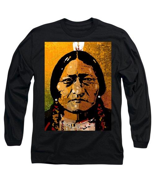 Sitting Bull Long Sleeve T-Shirt
