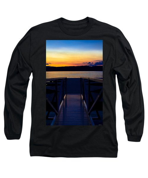 Sitting On The Dock Of A Bay Long Sleeve T-Shirt