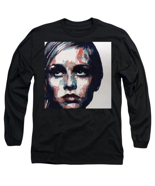 Sixties Sixties Sixties Twiggy Long Sleeve T-Shirt