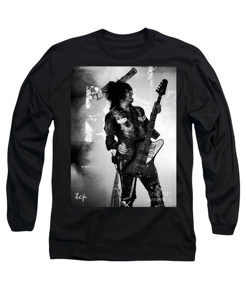 Long Sleeve T-Shirt featuring the photograph Sixx by Traci Cottingham