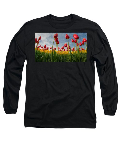 Skagit Valley Spring Joy Long Sleeve T-Shirt