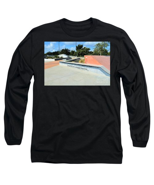 Long Sleeve T-Shirt featuring the photograph Skate Park by Ray Shrewsberry