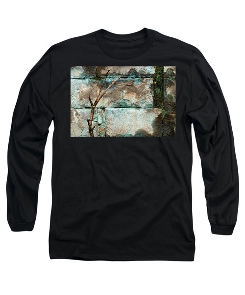 Skc 2510 Worn Out  Long Sleeve T-Shirt by Sunil Kapadia