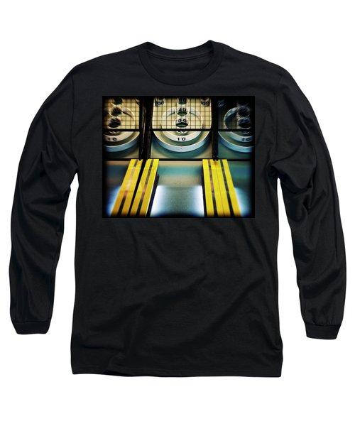 Skeeball Arcade Photography Long Sleeve T-Shirt