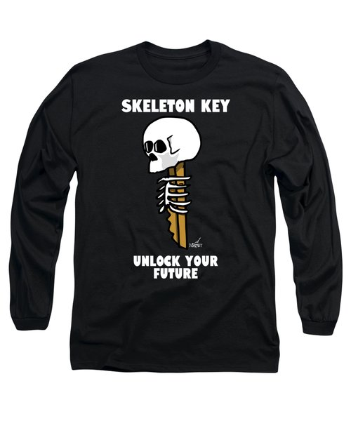 Skeleton Key - Dark Long Sleeve T-Shirt