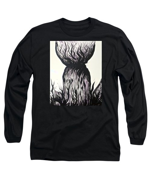 Sketchy Latte Stone Long Sleeve T-Shirt