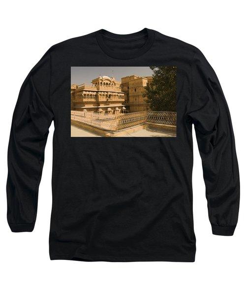 Skn 1231 Kingly Jharokhas Long Sleeve T-Shirt