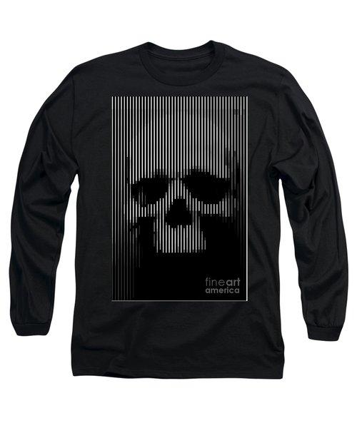 Skull Lines Long Sleeve T-Shirt