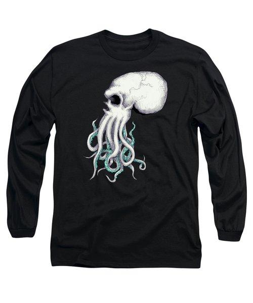 Skull Of Cthulhu Long Sleeve T-Shirt