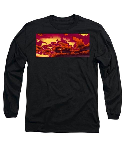 Sky #4 Long Sleeve T-Shirt