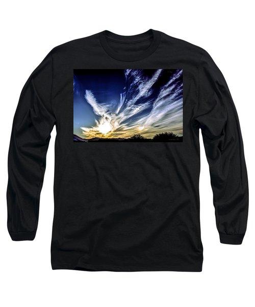 Sky Artistry Over Chandler Arizona Long Sleeve T-Shirt