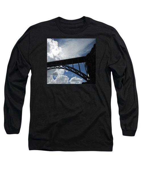 Sky Bridge Long Sleeve T-Shirt by Jeff Gater