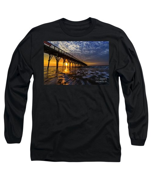 Sky Divided Long Sleeve T-Shirt