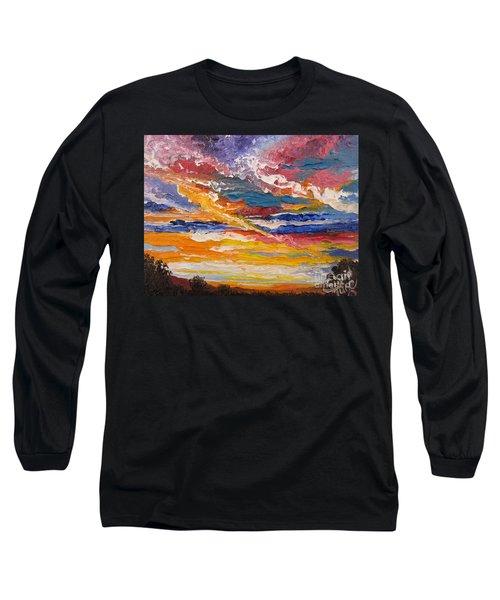 Sky In The Morning.             Sailor Take Warning  Long Sleeve T-Shirt