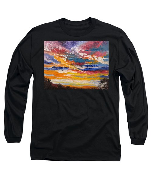 Sky In The Morning.             Sailor Take Warning  Long Sleeve T-Shirt