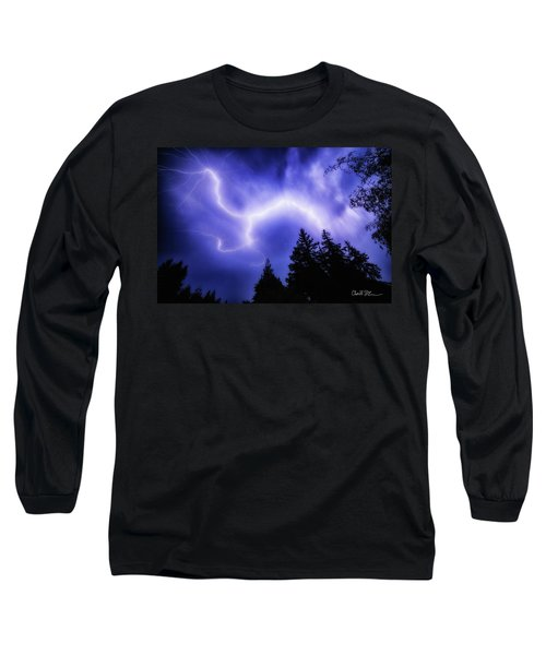 Sky Lightning Long Sleeve T-Shirt