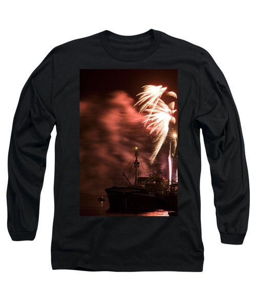 Long Sleeve T-Shirt featuring the photograph Sky On Fire by Ian Middleton