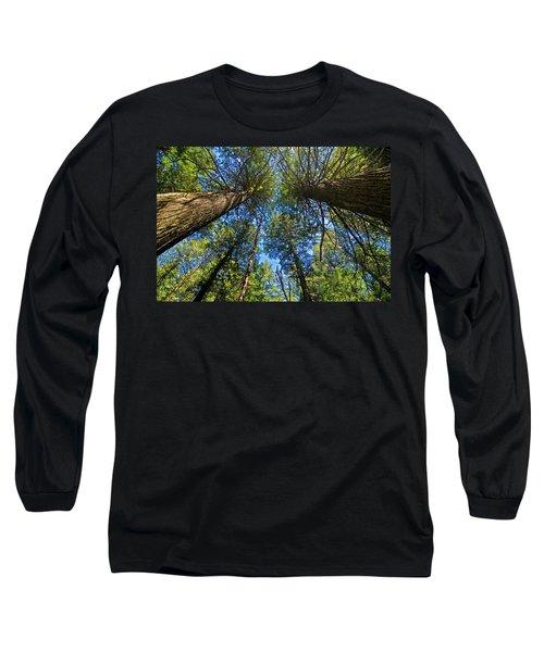 Long Sleeve T-Shirt featuring the photograph Skyward by Gary Lengyel