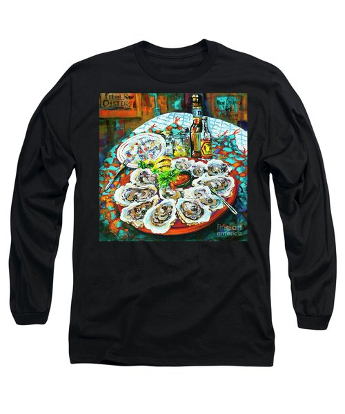 Slap Dem Oysters  Long Sleeve T-Shirt