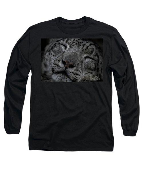 Sleepy Cat Long Sleeve T-Shirt