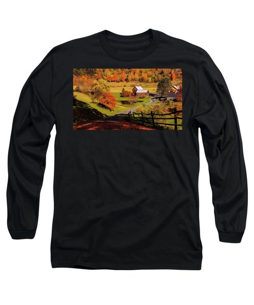 Sleepy Hollow - Pomfret Vermont-2 Long Sleeve T-Shirt