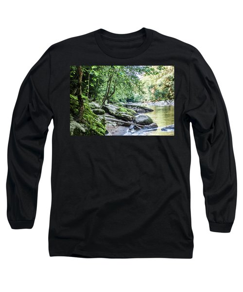 Slippery Rock Gorge - 1912 Long Sleeve T-Shirt