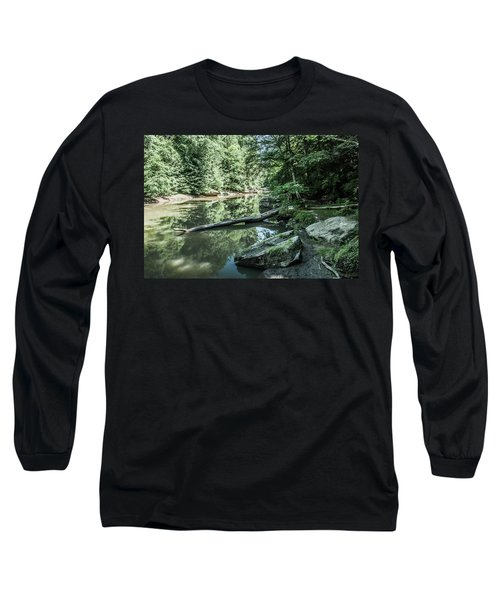 Slippery Rock Gorge - 1944 Long Sleeve T-Shirt