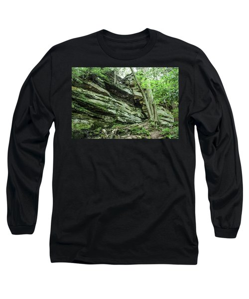 Slippery Rock Gorge - 1958 Long Sleeve T-Shirt