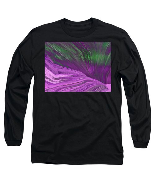 Slippery Slope Long Sleeve T-Shirt by Tim Allen