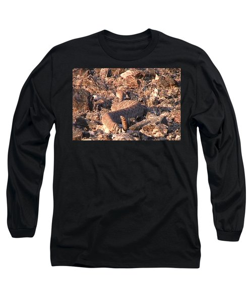 Slithering Away With Tail Held High Long Sleeve T-Shirt