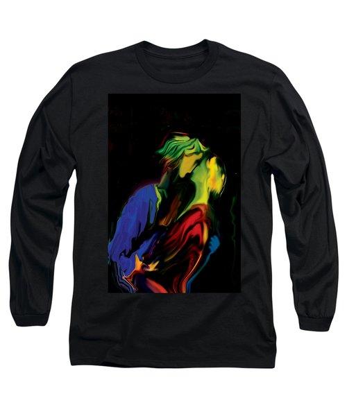 Slow Dance Long Sleeve T-Shirt by Rabi Khan